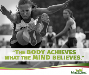 Quote: The Body Achieves What The Mind Believes