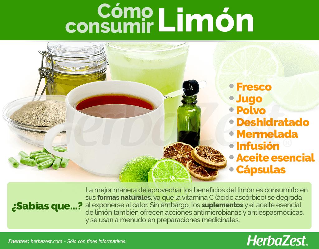 Cómo consumir limón