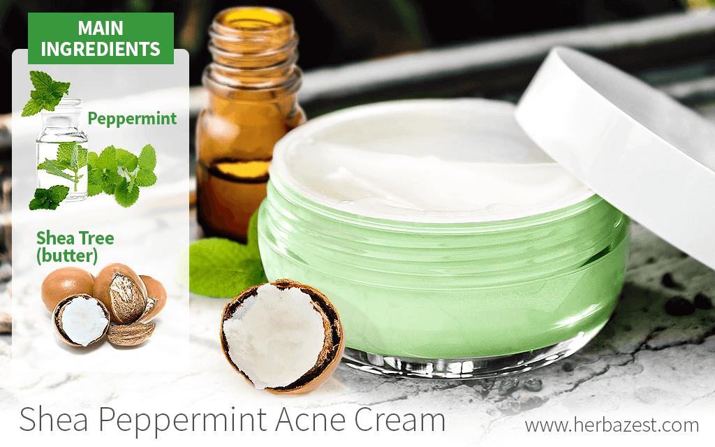 Shea Peppermint Acne Cream