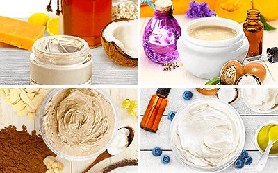 Natural Body Lotions & Butters
