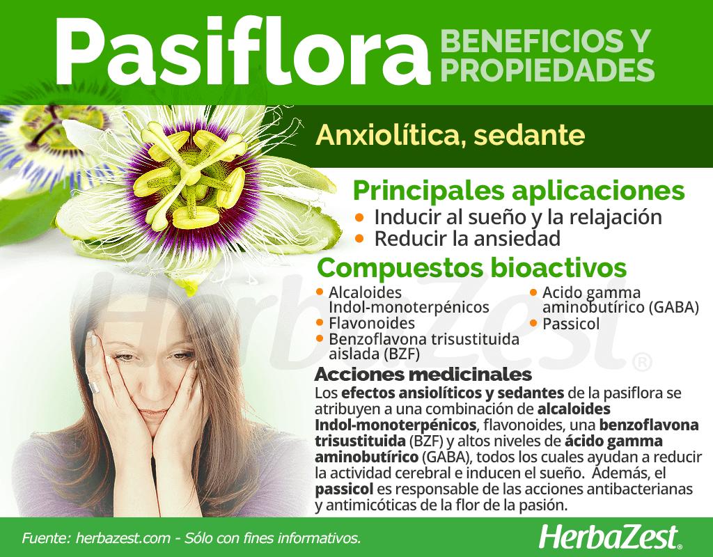 Beneficios y propiedades de la pasiflora