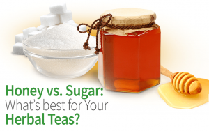 Honey vs. Sugar: What's Best for Your Herbal Teas?