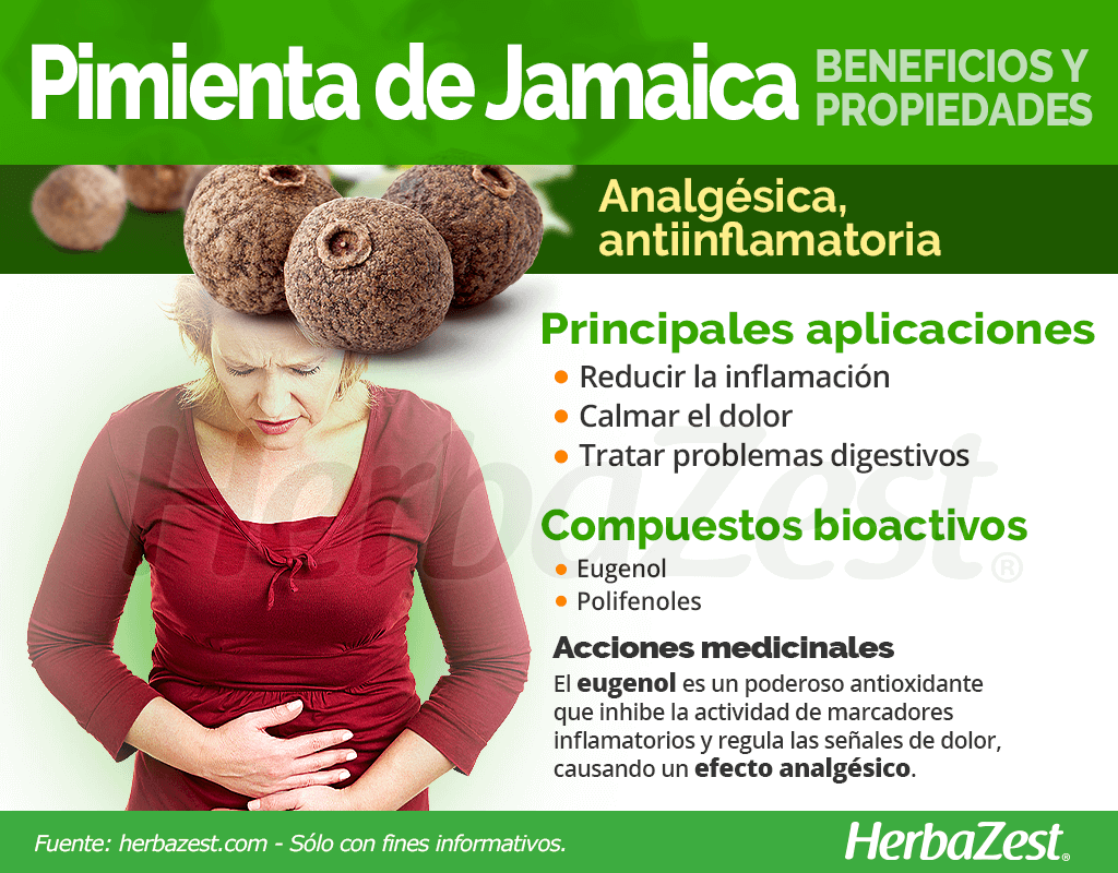 Beneficios y propiedades de la pimienta de Jamaica