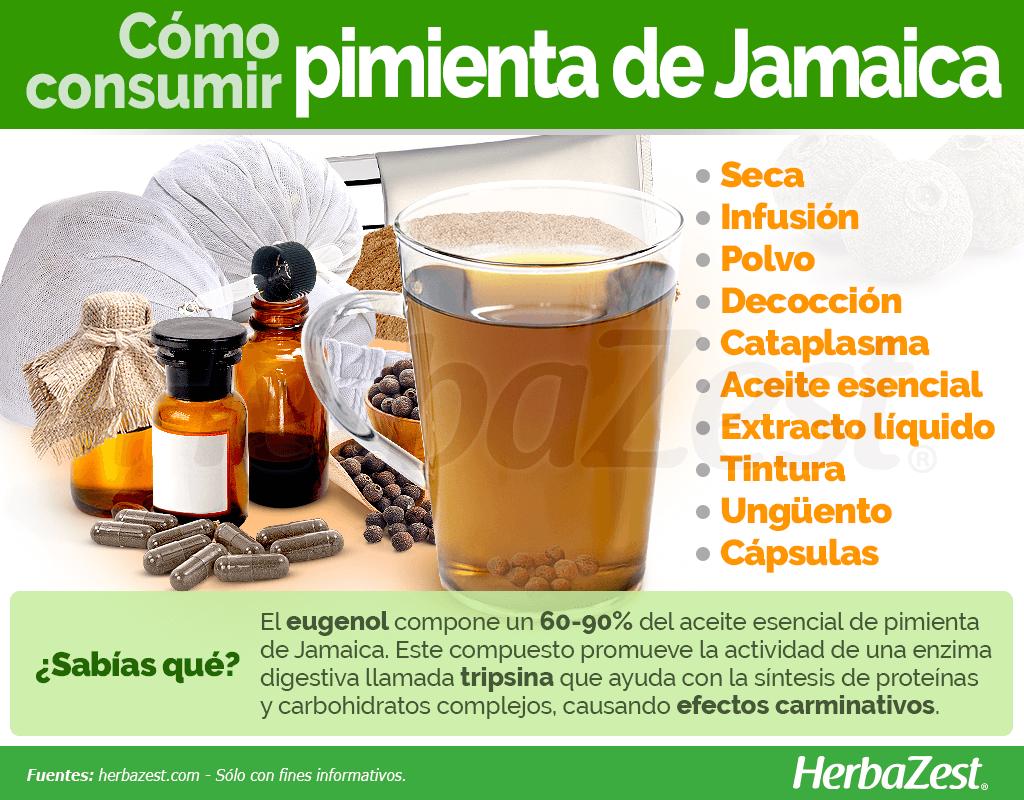 Cómo consumir pimienta de Jamaica