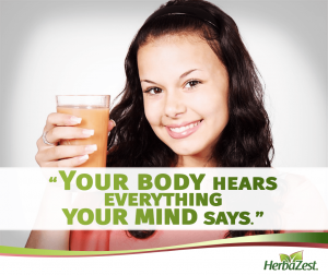 Quote: Your Body Hears Everything Your Mind Says