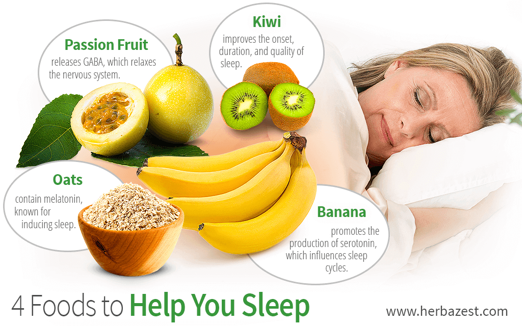 4 Foods to Help You Sleep