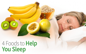 4 Foods to Help You Sleep
