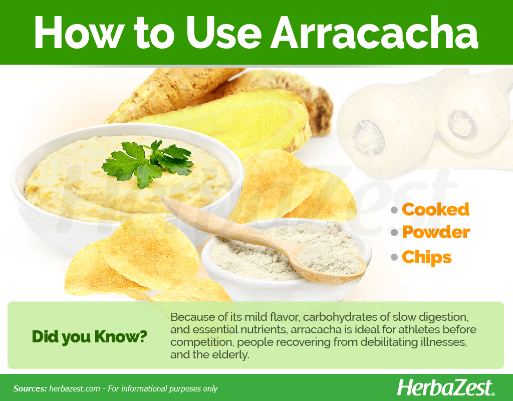 How to Use Arracacha