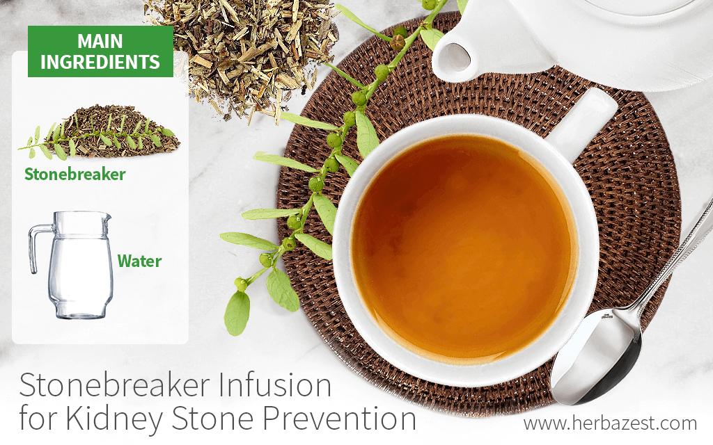 Stonebreaker Infusion for Kidney Stones Prevention