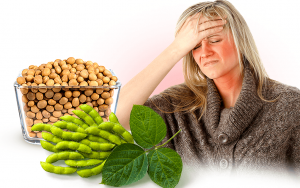 Researchers found that some women are genetically predisposed to find soy more effective against hot flashes than others.