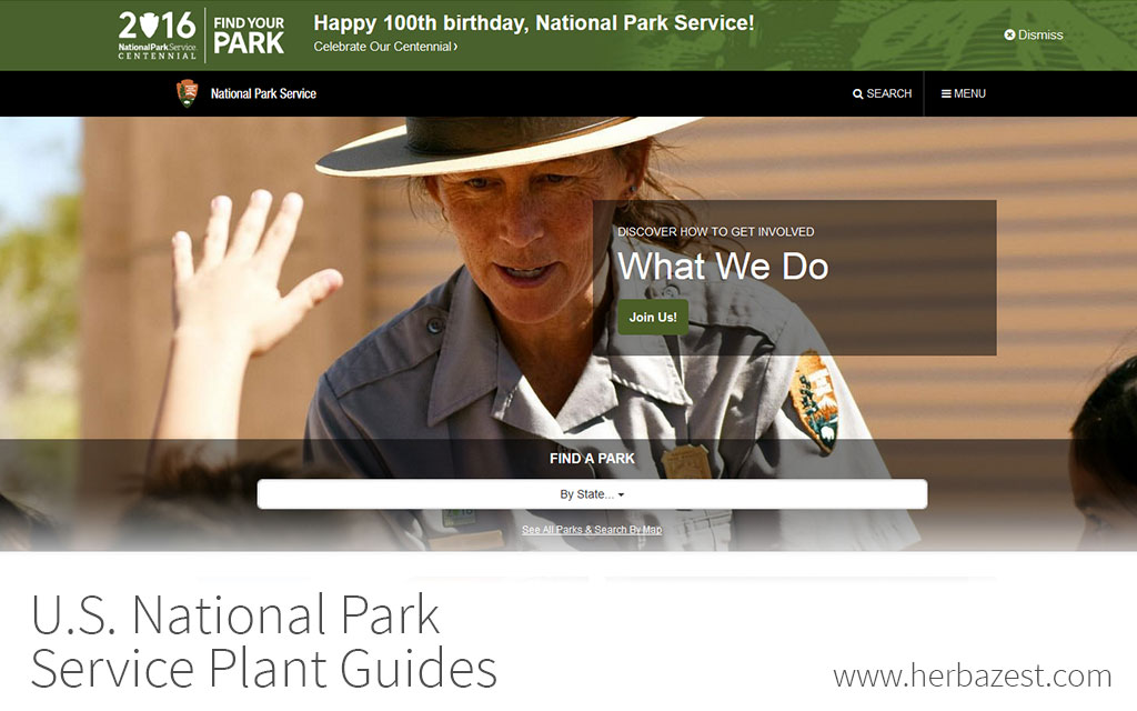 U.S. National Park Service Plant Guides