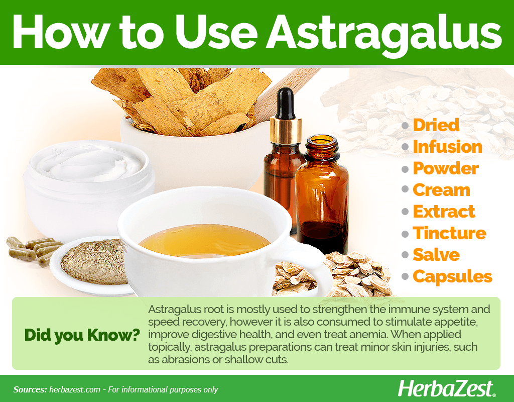 How to Use Astragalus