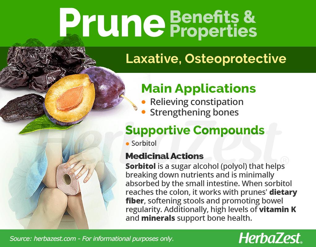 Prune Benefits and Properties