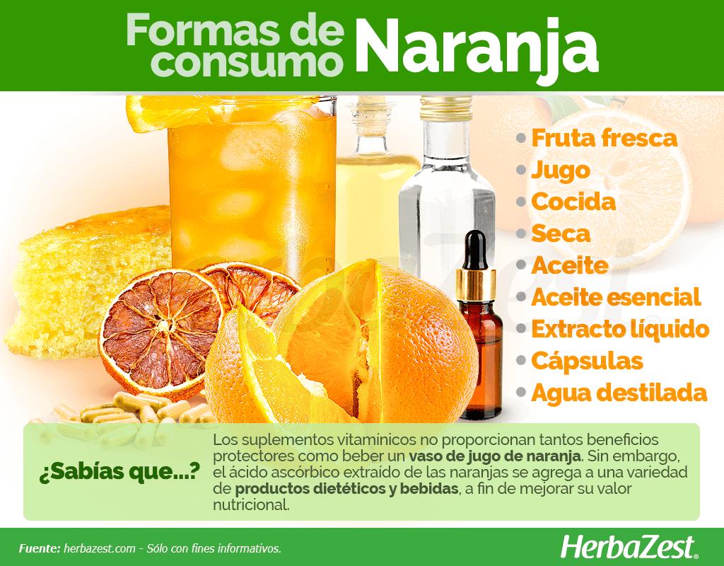 Cómo consumir naranja