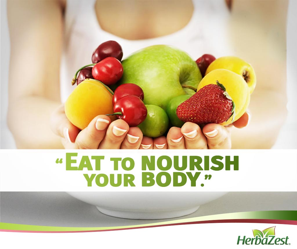 Quote: Eat To Nourish Your Body