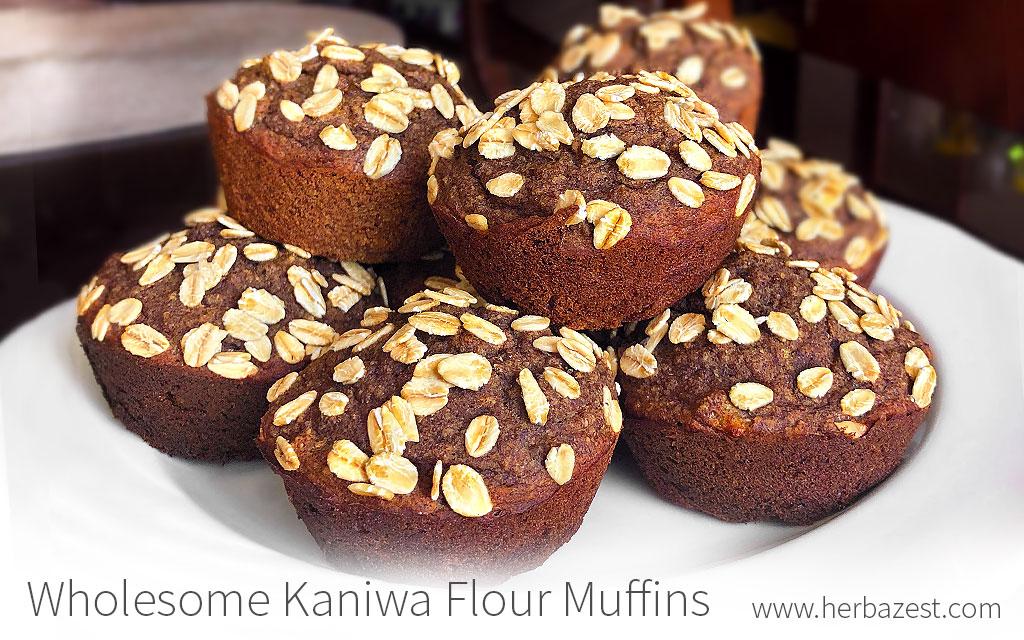 Wholesome Kaniwa Flour Muffins