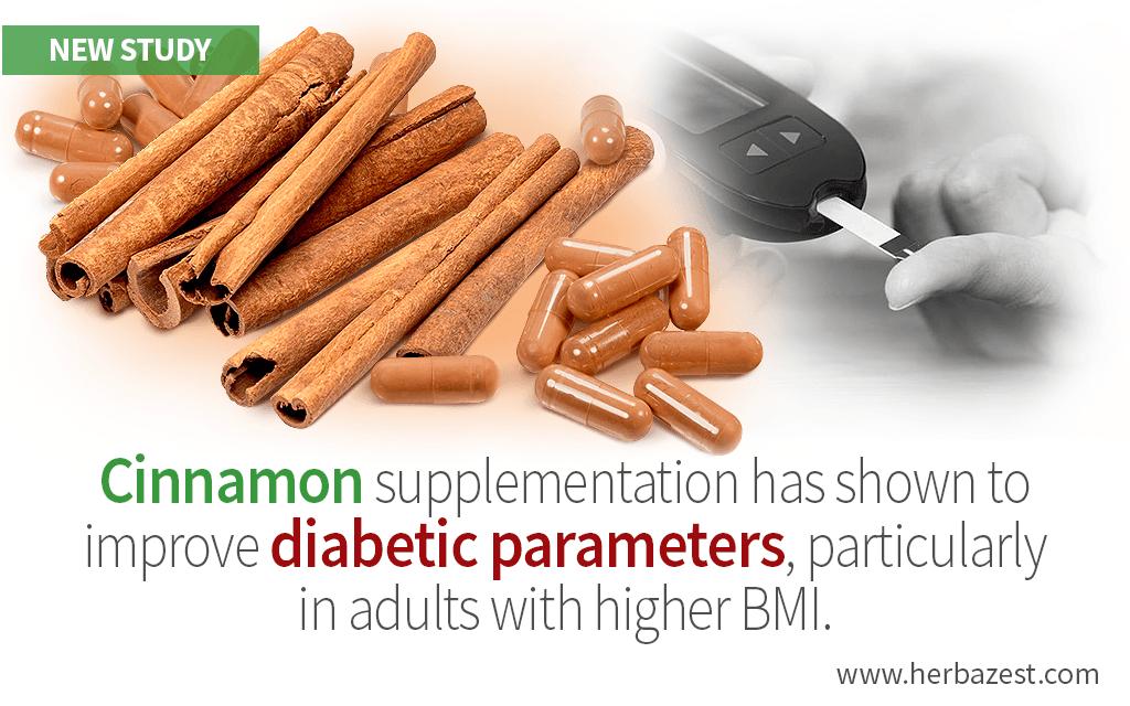 Cinnamon Benefits People with Type II Diabetes, Study Confirms