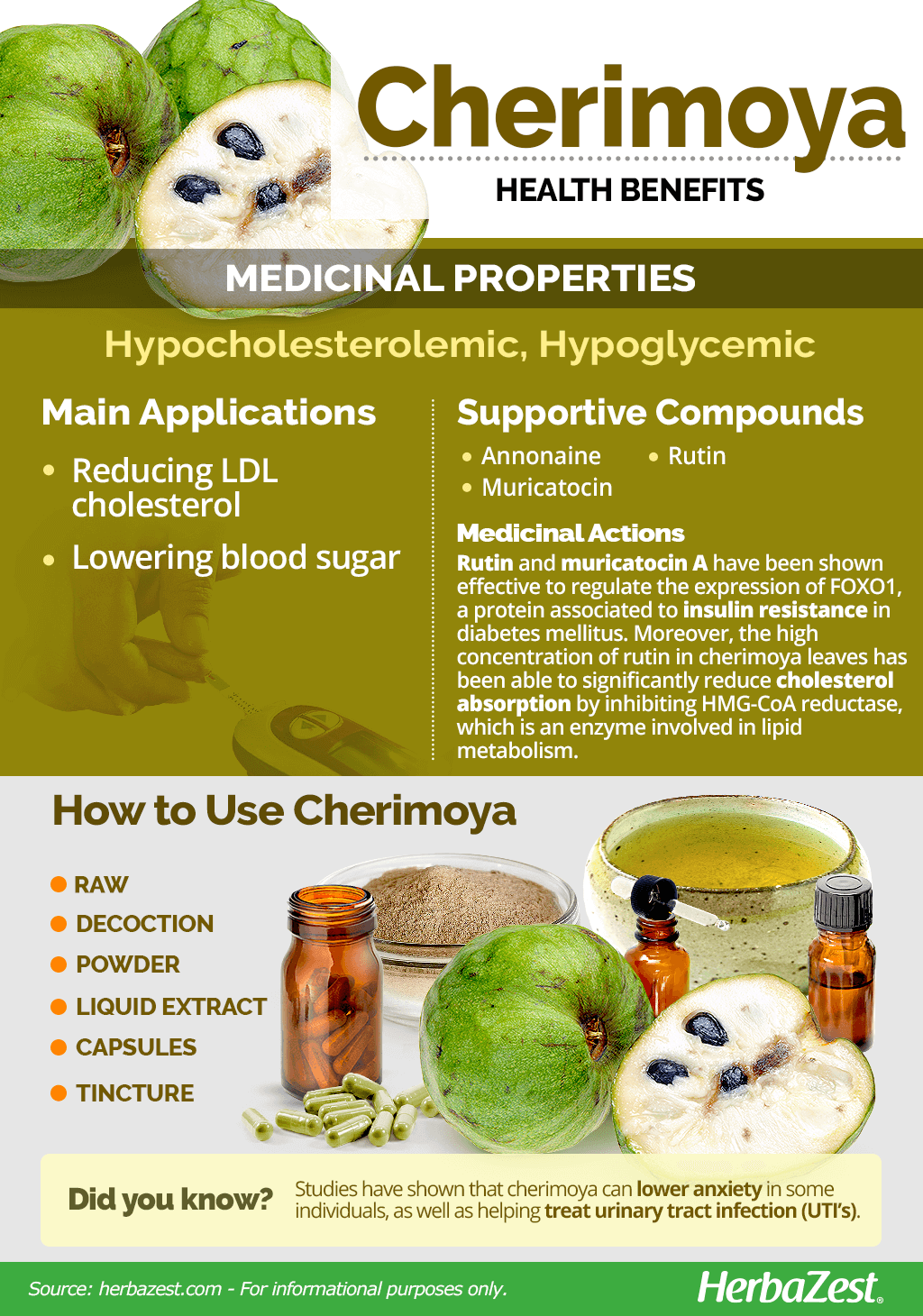 All About Cherimoya