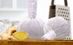 Warming Ginger Poultice for Pelvic Pain