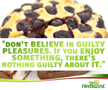 Quote: Good Food is a Guilty Pleasure
