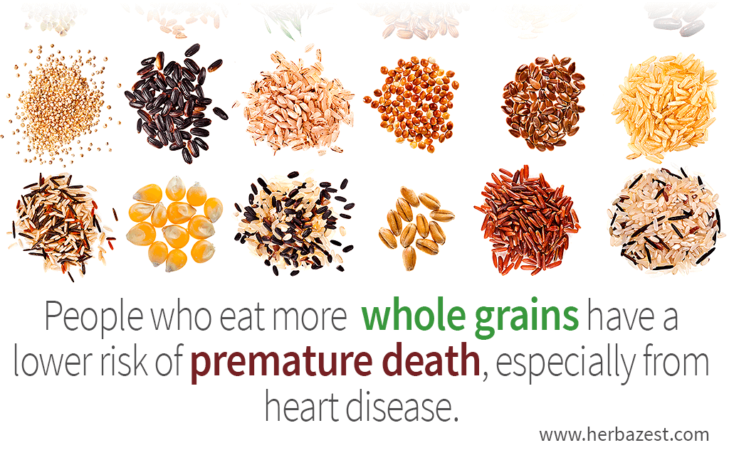 Whole Grains Linked to A Longer Life