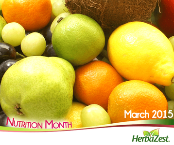 Special Date: Nutrition Month 2015