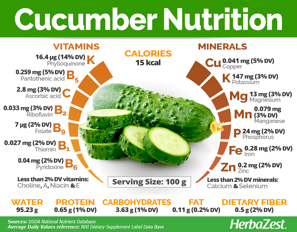Cucumber Nutrition