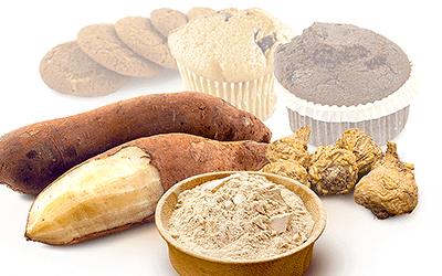 Viability of Yacon and Maca as Flour Substitutes for Baking