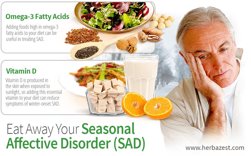 Eat Away Your Seasonal Affective Disorder (SAD)