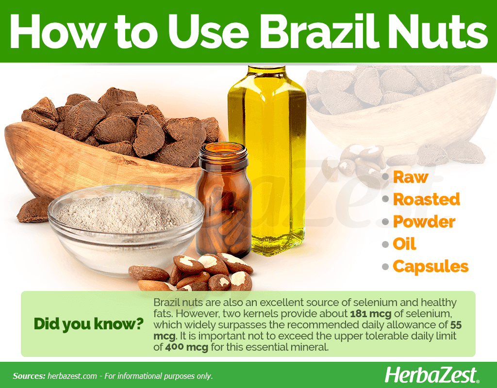 How to Use Brazil Nuts