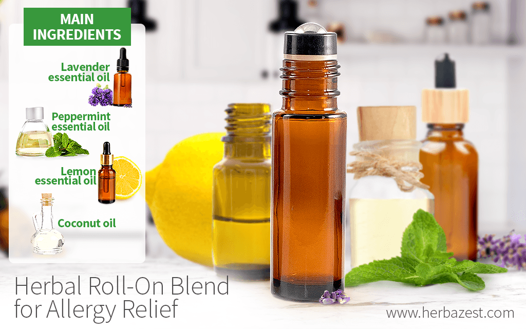 Herbal Roll-On Blend for Allergy Relief