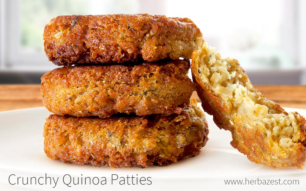Crunchy Quinoa Patties