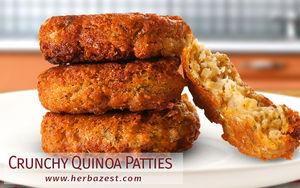 Crunchy Quinoa Patties
