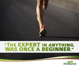 Quote: The Expert in Anything Was Once a Beginner
