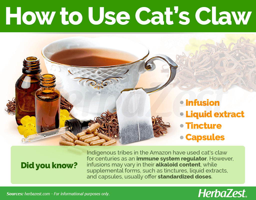 How to Use Cat's Claw