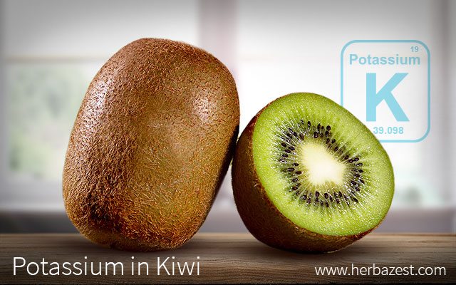 Potassium in Kiwi