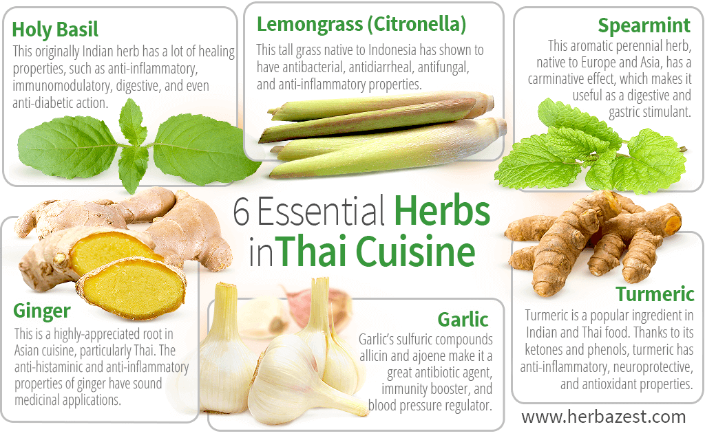 6 Essential Thai Cooking Herbs