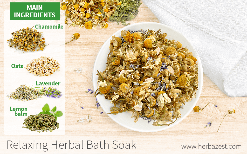 Relaxing Herbal Bath Soak