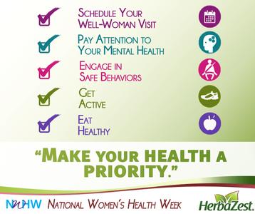 Special Date: National Women's Health Week