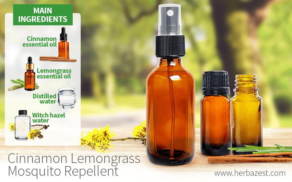 Cinnamon Lemongrass Mosquito Repellent