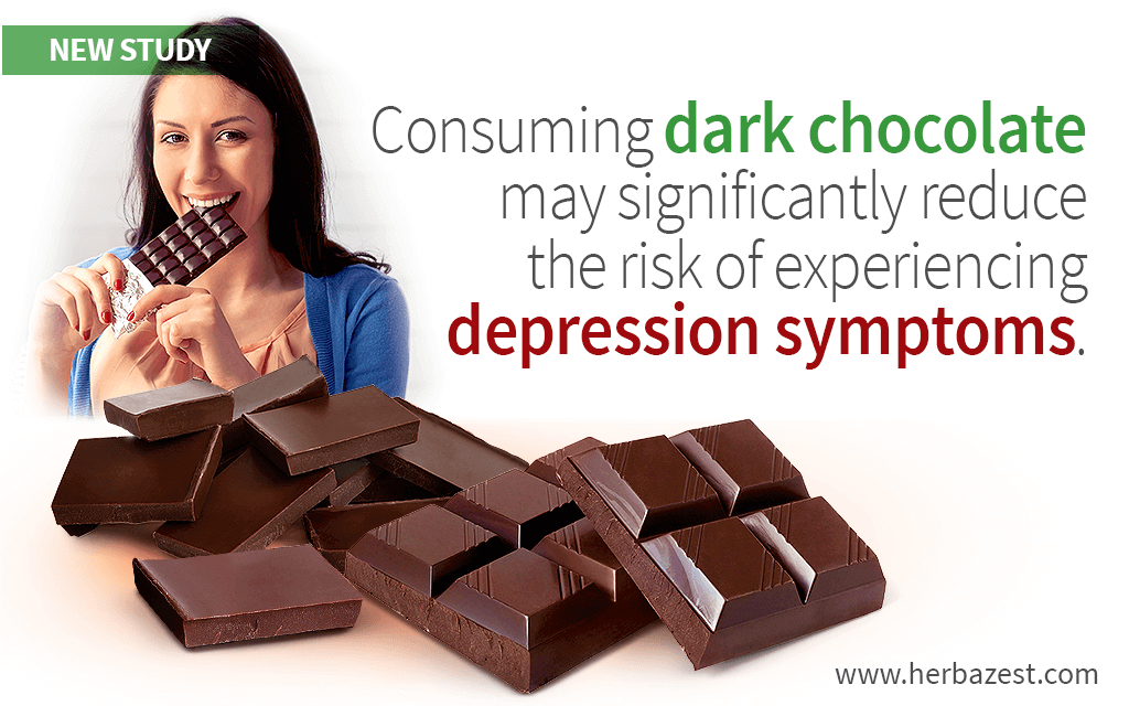Link between Dark Chocolate and Depression Prevention Suggested by Large Survey