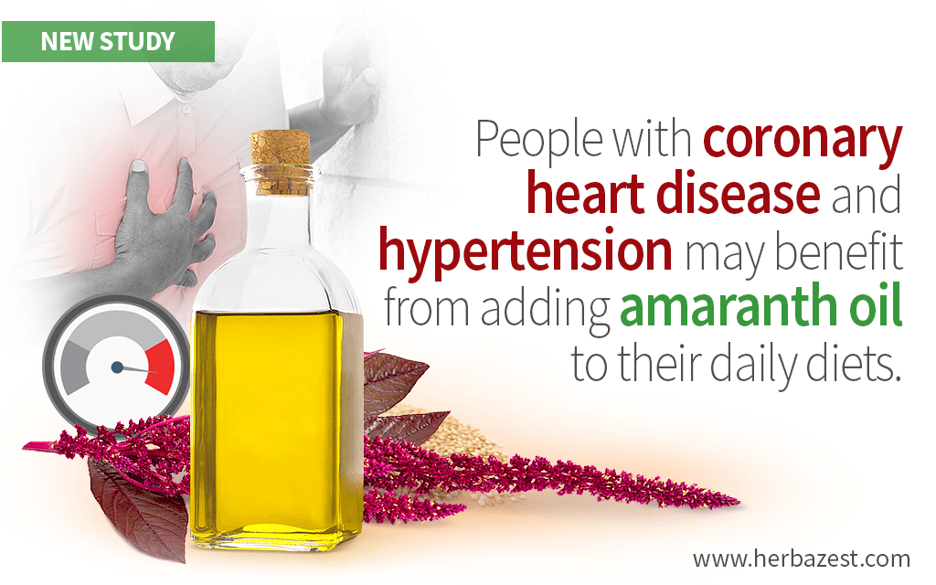 Heart-Protective Effects of Amaranth Oil Identified by a Study