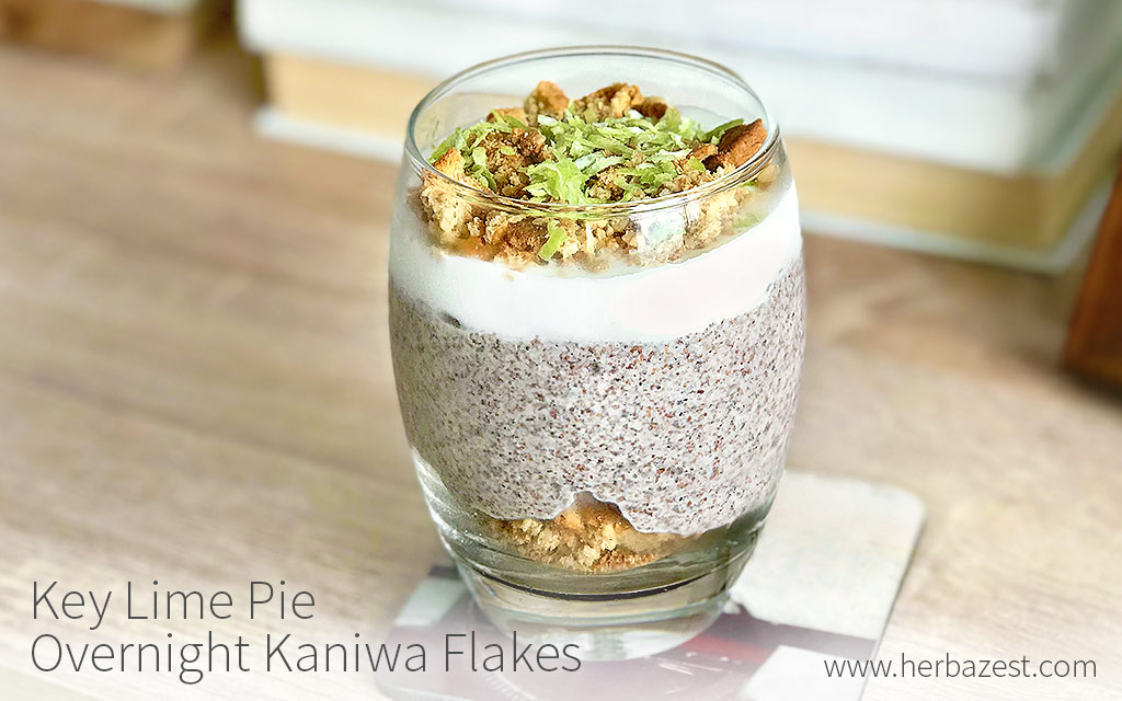 Key Lime Pie Overnight Kaniwa Flakes