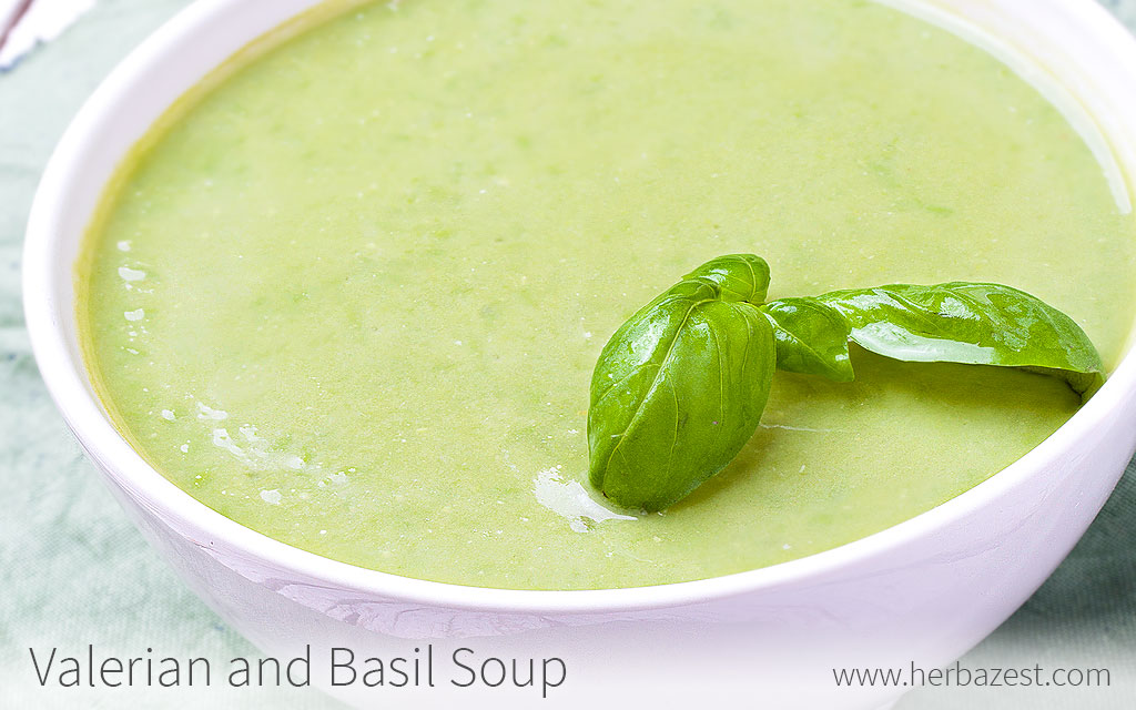 Valerian and Basil Soup