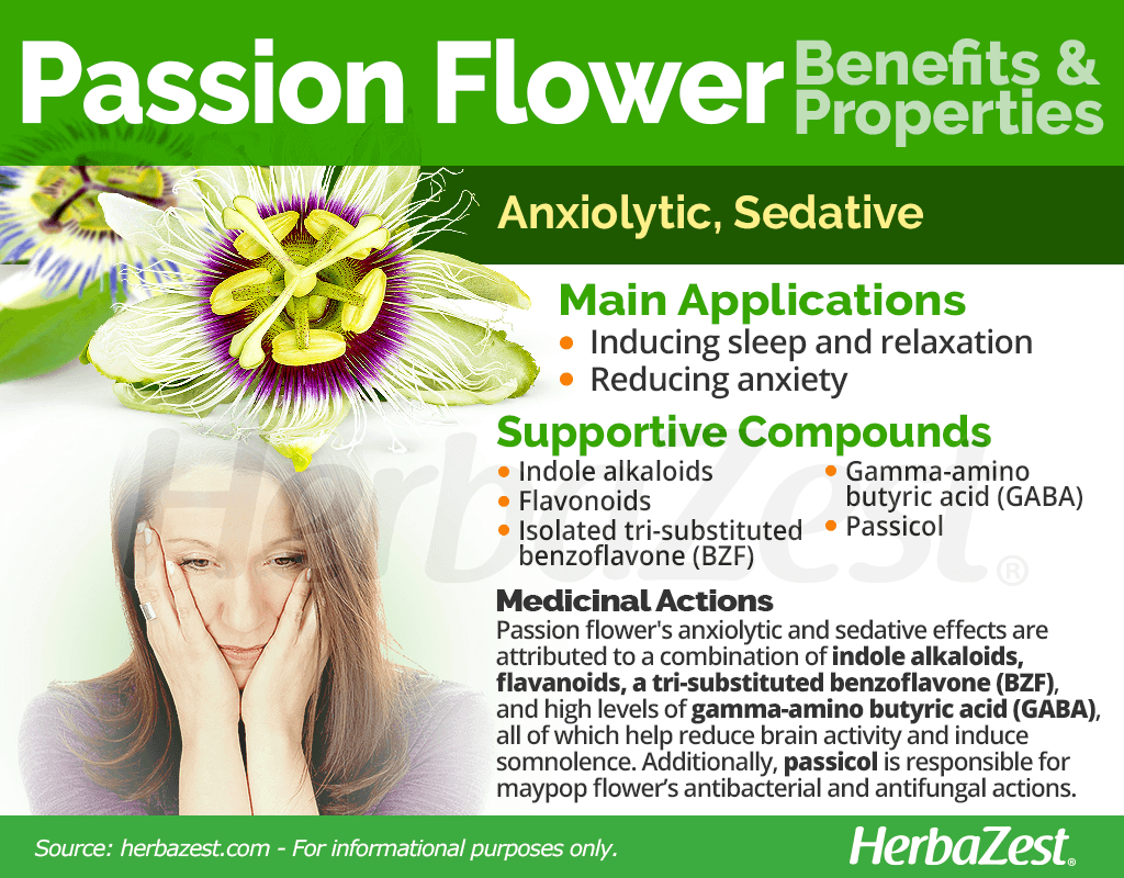 Passion Flower Benefits and Properties