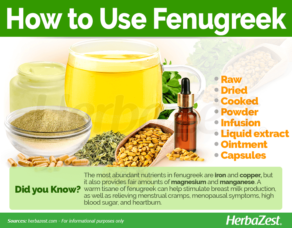 How to Use Fenugreek