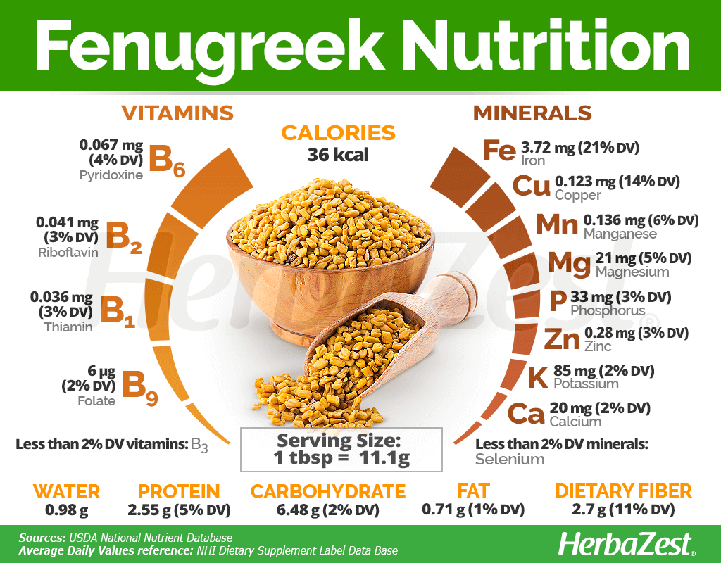 Fenugreek Nutrition