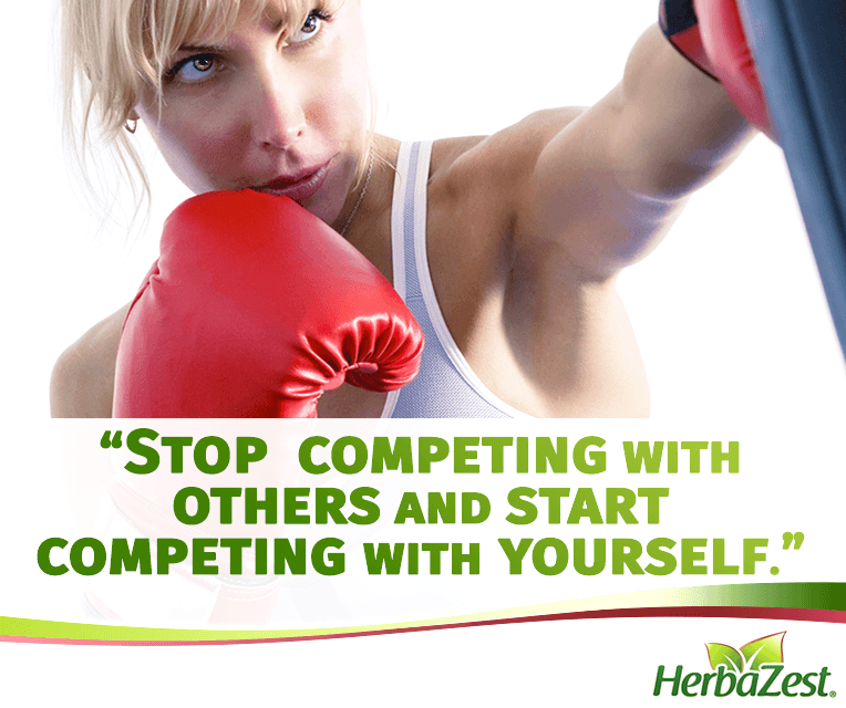 Quote: Stop Competing with Others and Start Competing with Yourself
