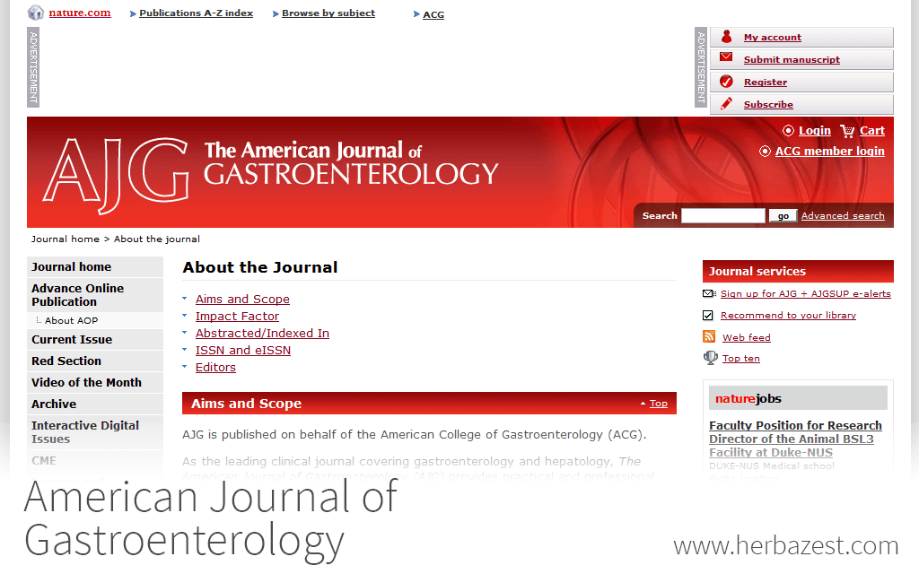 American Journal of Gastroenterology