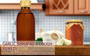 Garlic Syrup as a Cough Remedy